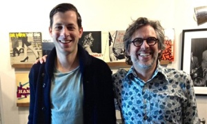 Mark Ronson and Michael Chabon at Gearbox